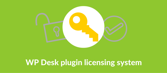 WP Desk plugin licensing system