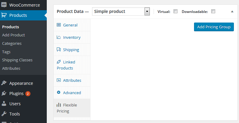 Flexible Pricing for Products