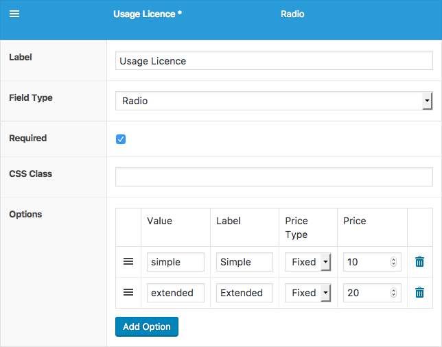 WooCommerce Product Add-ons Editor