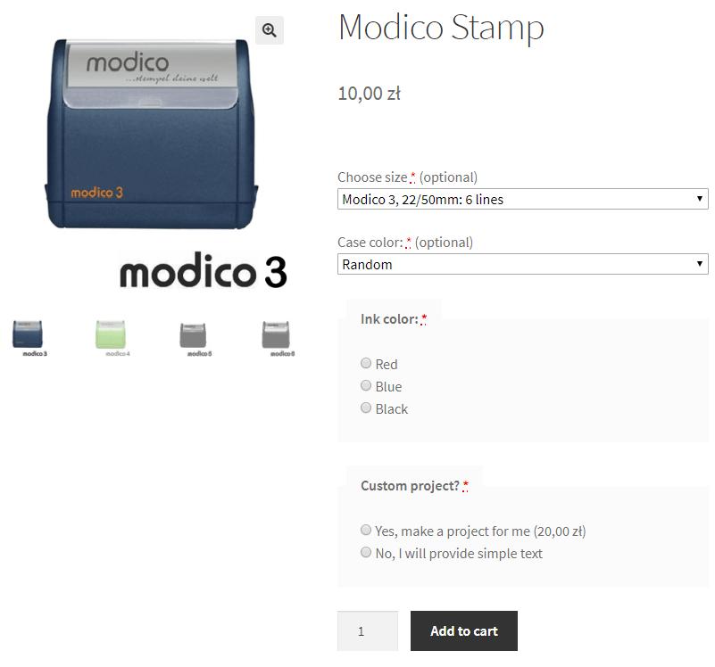 Modico Stamps