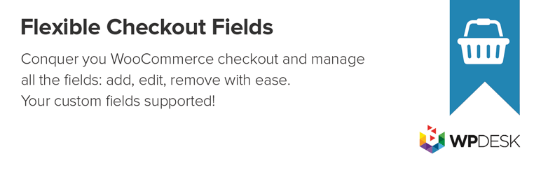 Flexible Checkout Fields plugin