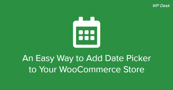 WooCommerce Checkout Datepicker