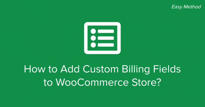 WooCommerce Custom Billing Fields