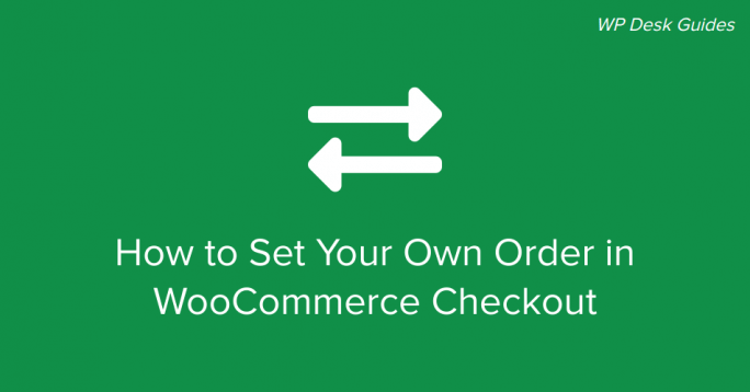 WooCommerce Checkout Order