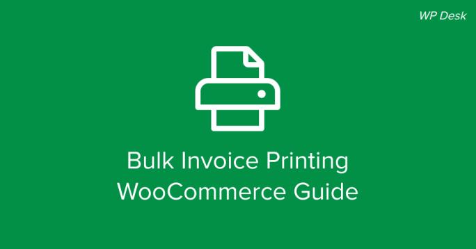 Bulk Invoice Printing