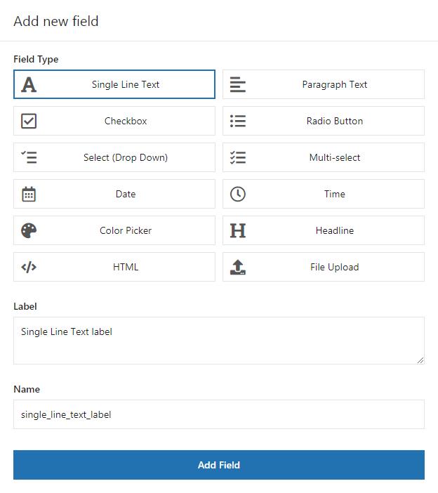 Add new field in Flexible Checkout Fields