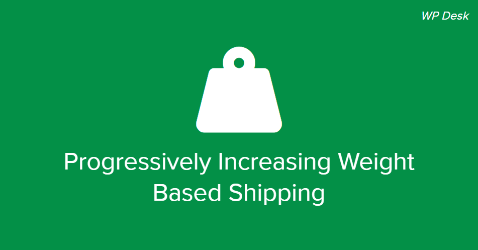 Progressively Increasing Weight Based Shipping In Woocommerce