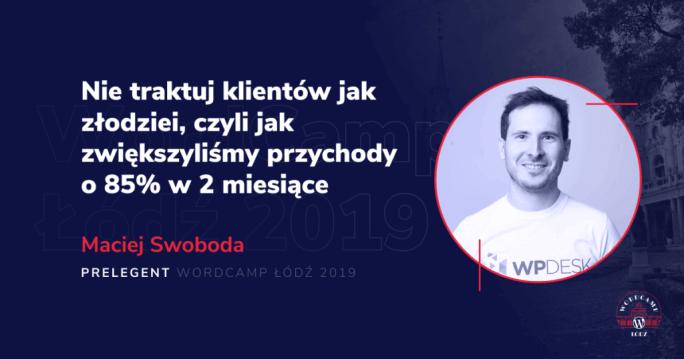 WP Desk speakers on WordCamp Lodz 2019