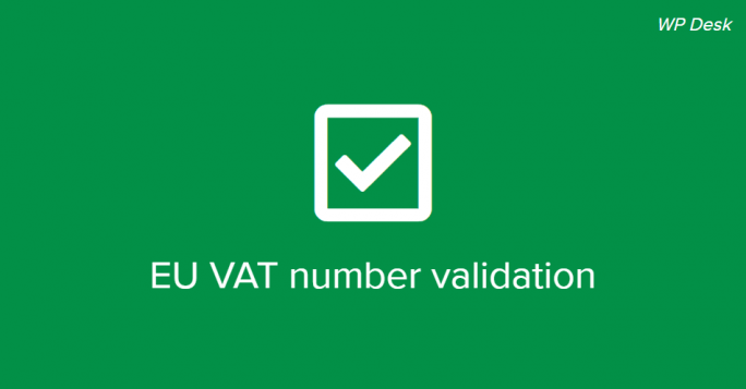 EU VAT number validation in woocommerce