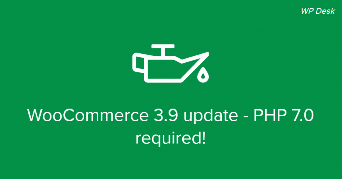 WooCommerce 3.9 update