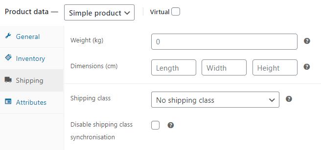 Dropshipping XML WooCommerce Settings Shipping
