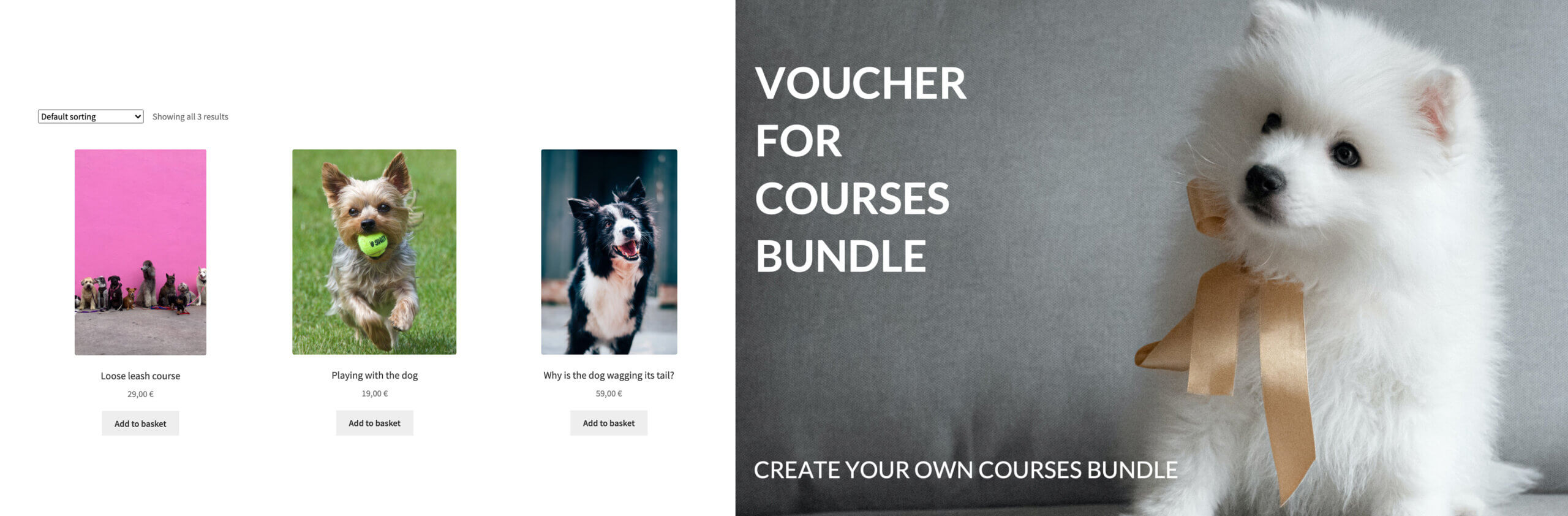 Vouchers in WooCommerce store with Flexible PDF Coupons WooCommerce