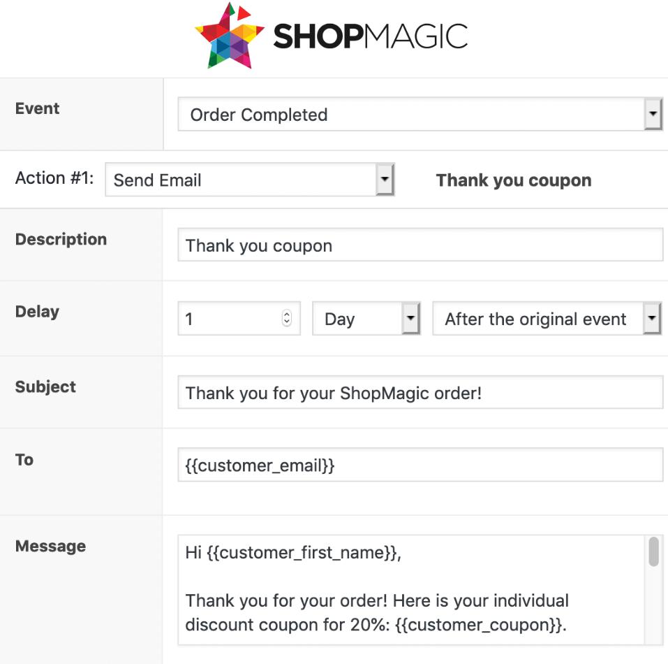 ShopMagic - WooCommerce Email Marketing Automation